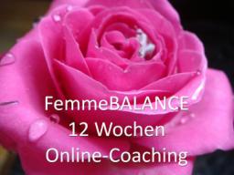 Webinar: FemmeBALANCE -12 Wochen Online-Coaching