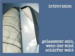Webinar: Gelassener sein, wenn der Wind schärfer weht