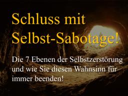 Webinar: Schluss mit Selbst-Sabotage