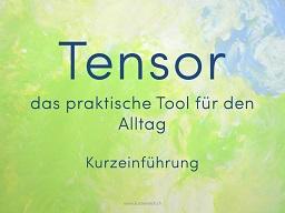 Webinar: Was ist ein Tensor?