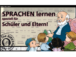 Webinar: Sprachen Lernen, speziell für Schüler und Eltern