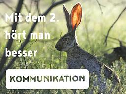 Webinar: Mit dem 2. hört man besser - Kommunikation erleichtern