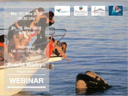 Webinar: WEBINAR: Puerto Madyn und die Halbinsel Valdés - Argentinien