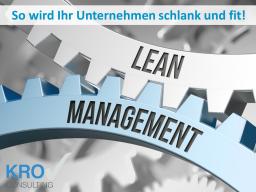 Webinar: Lean Management - So wird ihr Unternehmen schlank und fit!