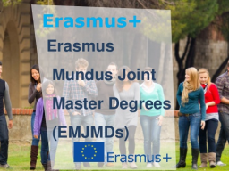Webinar: Becas Erasmus Mundus