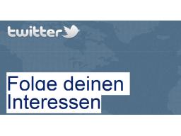Webinar: Twittern für Einsteiger!