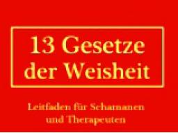 """Webinar: Buchvorstellung: 13 """"Gesetze der Weisheit"""""""