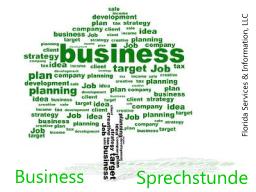 Business Sprechstunde und Immobilien Sprechstunde