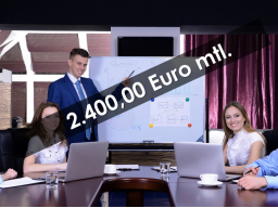 Webinar: 2.400,00 € mtl. durch Akquise FÜR Anbieter Coaching Ausbildung