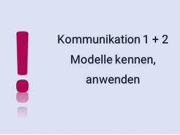 Webinar: 2 x 60 Min Seminar Kommunikation 1+2