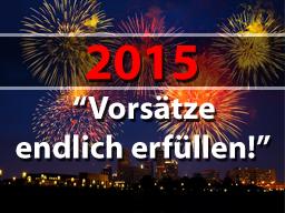 Webinar: Starte perfekt ins neue Jahr - Vorsätze endlich erfüllen!