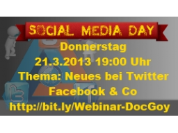 Webinar: Neues bei Twitter, Facebook & Co