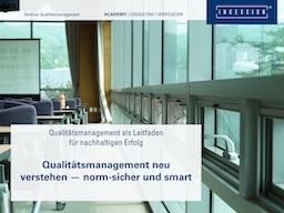 Webinar: Qualität verstehen I - Grundlagen des Qualitätsmanagements