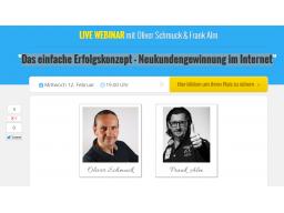 Webinar: Das einfache Erfolgskonzept - Neukundengewinnung im Internet