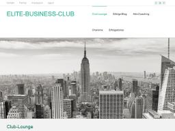 Webinar: ELITE-BUSINESS-CLUB  Topthema Mein Unternehmen ist Kundenmagnet
