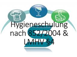 Webinar: Hygieneschulung nach VO (EG) 852/2004 & LMHV§ 4