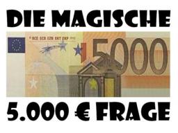 Webinar: Die magische 5.000 Euro Frage