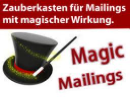 Webinar: Magic Mailings - ein Mailing-Profi öffnet seinen Zauberkasten (29.4.2014, 16 Uhr)