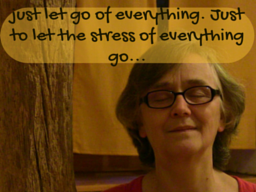 Webinar: Just Let Go of Everything. Just to Let The Stress of Everything Go...