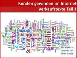Webinar: Webinar Kompaktkurs - Teil 6 - Verkaufstexte1