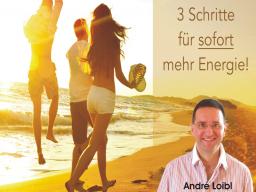 Webinar: Zu mehr Energie und Lebensfreude in drei Schritten