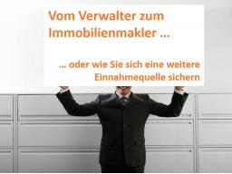 Webinar: Vom Verwalter zum Makler oder wie Sie sich als Hausverwaltung eine weitere Einnahmequelle erschließen