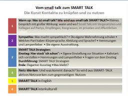 Webinar: Vom small talk zum SMART TALK - Die Kunst Kontakte zu knüpfen und zu nutzen Teil 1