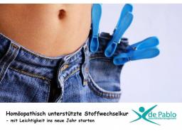 Webinar: Endlich glücklich abnehmen mit der homöopathisch unterstützten Stoffwechselkur