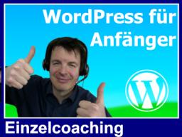 Webinar: Einzelcoaching - WordPress für Anfänger (Bernd)