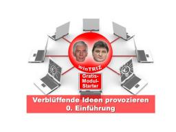 Webinar: win TRIZ Verblüffende Ideen - Einführung