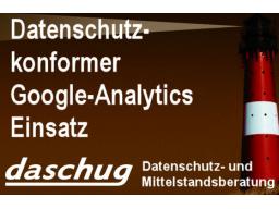 Webinar: Google Analytics datenschutzkonform einsetzen