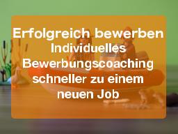 Webinar: Professionelles Bewerbungscoaching