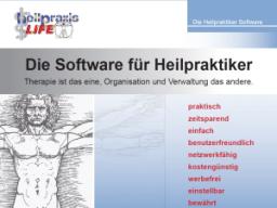 heilpraxisLIFE - Die Heilpraktiker Software für erfolgreiche Therapeuten