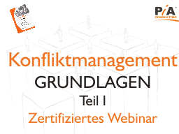 Webinar: Konfliktmanagement im Business - zertifiziert [Modul 1 von5]