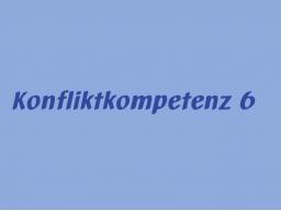 Webinar: Konfliktkompetenz 6: Killerphrasen sind Konfliktherde