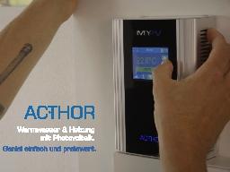 Webinar: PV Eigenverbrauchslösungen von my-PV für Fa. Limmert