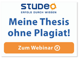 Webinar: Thesis-ABC: Meine Thesis ohne Plagiat