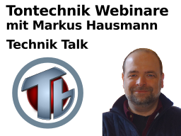 Webinar: Technik-Talk
