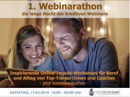 Webinar: 1. Webinarathon - Inspirierende Impulse für Beruf und Alltag