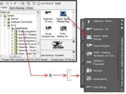 Webinar: AutoCAD 2017 : Werkzeugpaletten - Werden Sie 30% schneller bei der Erstellung von technischen Zeichnungen