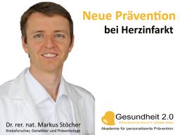 "Webinar: Neue Prävention bei ""Herzinfarkt"""