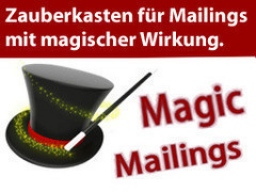 Webinar: Magic Mailings - ein Mailing-Profi öffnet seinen Zauberkasten (29.1.2014, 16 Uhr)