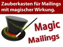 Webinar: Magic Mailings - ein Mailing-Profi öffnet seinen Zauberkasten (25. April 2013)