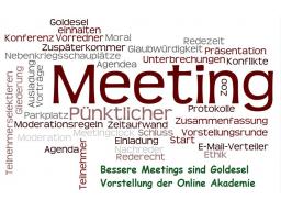 Webinar: Meetings werden zu Goldeseln - Vorstellung der Online Akademie