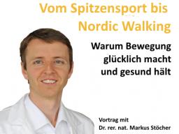 Webinar: Vom Spitzensport bis Nordic Walking - Warum er glücklich macht und gesund hält