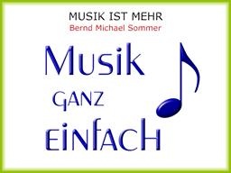 Webinar: MUSIK IST MEHR - Musik ganz einfach