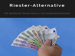 Webinar: Die Riester-Alternative oder wie Sie die dreifache Rente bekommen