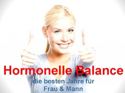Webinar: Hormonelle Balance, HP Webinar