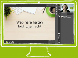 Webinar: Vorgestellt: Webinarraum 2.0