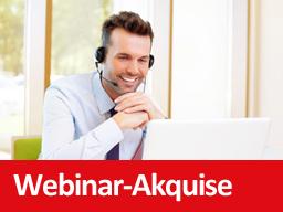 Webinar: Akquise Webinare: Wie Sie an 100 Interessenten auf einen Streich verkaufen!